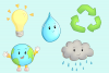 Earth Day Clip Art Collection example image 4