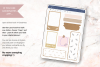 Digital Planner Stickers Craft Style PNG & GoodNotes file example image 3