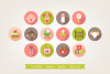 Round Baby Icons example image 3