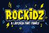 Rockidz // Layered Font Family example image 1