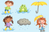 April Showers Clip Art Collection example image 3