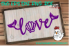Love Word--Mermaid Theme SVG example image 3