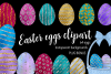 Easter Eggs Clipart example image 1