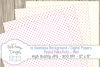 16 seamless Digital Papers - Pastel Polka Dots Mini - HC008 example image 3