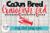 Cajun Bred Crawfish Fed Boil SVG Cutting Files example image 1