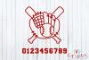 Baseball Birthday   SVG Cut File example image 2