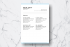 Resume Template Vol. 06 example image 4