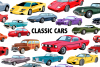 Classic Car Clipart example image 1