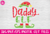 Elf Family Bundle - SVG, DXF, EPS Cut Files example image 4