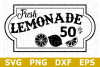 Fresh Lemonade - A Summer Sign SVG Cut File example image 2