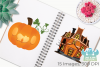 Jack O' Lanterns Clipart, Instant Download Vector Art example image 3