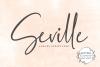 Seville Script Fonts example image 1