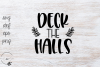 Deck The Halls SVG example image 1
