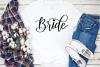 Bride Handlettered Script, SVG, PNG, JPEG example image 2
