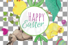 Easter greeting cards, 6 Happy Easter cards, colorful cards example image 10
