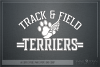 Terrier, Track and Field, Team, Logo, PRINT, CUT, DESIGN example image 5
