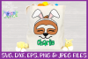 Easter | Sloth Face SVG Cut File example image 2