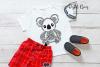Koala SVG / PNG / EPS / DXF Files example image 6