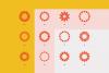 96 Geometric shapes & logo marks VOL.2 example image 22