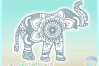 Elephant Mandala Svg Dxf Eps Png Pdf Files For Cricut example image 3