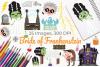 Bride of Frankenstein Clipart, Instant Download Vector Art example image 1