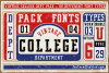 Vintage College Dept_Pure example image 4