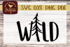 Woodland Wild Nursery SVG Cut file example image 1