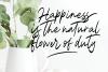 Magnolia A Stylish Calligraphy Font example image 5