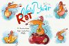 New Year Rat - 5 illustrations example image 1