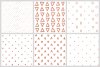 Abstract Rose Gold Seamless Patters - 30 Seamless Patterns example image 5