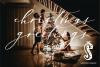 Holiday Season - a festive shadow font example image 2