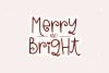 Christmas Kisses - A Cute & Quirky Holiday Font example image 5