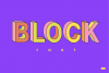 Block SVG Font example image 1