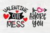 Valentine's Bundle SVG | Cut Files for Crafters | Kids SVG example image 6