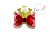 Crown Hair Bow Digital Template  Hair Bow Template example image 1