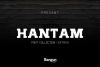 Hantam Font example image 1