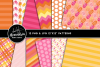 Summer Sweets Clipart Graphics & Digital Paper Patterns Bundle example image 2