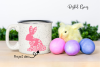Rabbit, Easter SVG / DXF / EPS / PNG files example image 4