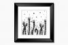 Magical Garden Doodle Art, A1, SVG example image 9