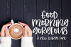 Good Morning Gorgeous - A Quirky Hand-Written Font example image 1