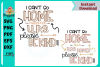 I can't stay home Mail-Force Bundle example image 4