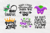 Mardi Gras SVG Bundle | 20 Funny Mardi Gras Quotes example image 4