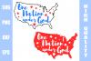 One Nation Under God svg example image 1