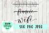 Girlfriend, Fiancee, Wife Handlettered SVG, PNG, JPEG example image 1