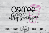 Coffee And Dry Shampoo - A Sassy SVG Cut File example image 2