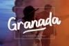 Granada Hand brushed Font example image 1