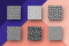 Organic Patterns - 50 trendy seamless textures example image 13