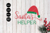 Santa's Helper CHRISTMAS SVG File, DXF file, PNG file example image 2