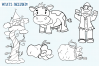 Jack and the Beanstalk Digital Stamps example image 2