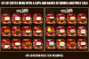 Coffee menu. Types of coffee drink, composition, price tags. example image 1